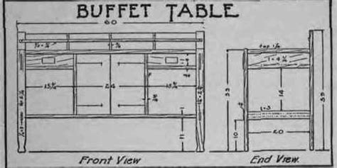 buffet table dimensions how to make a buffet table
