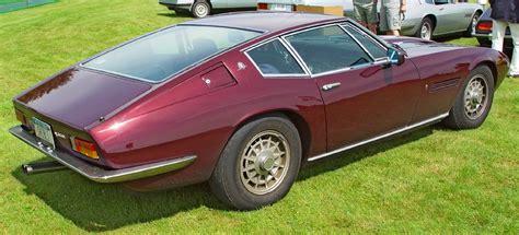 maserati ghibli brown 1967 maserati ghibli coupe metallic brown rear side