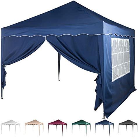 faltpavillon wasserdicht 3x3 mit 4 seitenteilen sonnenschutz maxstore und andere gartenm 246 bel f 252 r