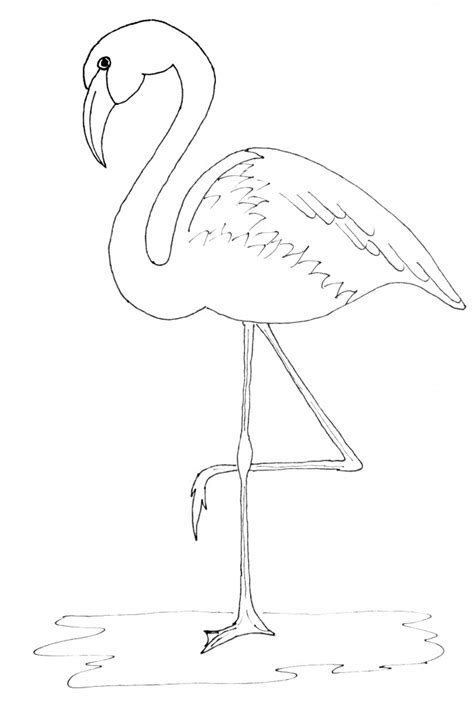 flamingo template it s flamingo friday just paint it