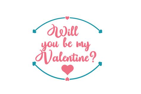 Where Will You Be On Valentines Day by Will You Be My Svg Cut File By Creative Fabrica