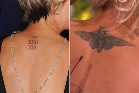 kaley cuoco back tattoo kaley cuoco opens up on divorce and explains moth