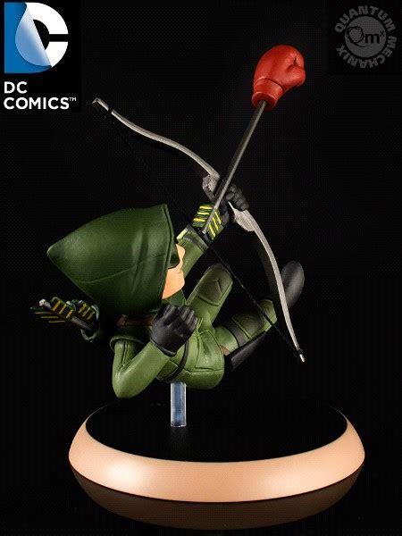 qmx dc comics arrow tv series green arrow q fig pvc figure razors edge collectibles