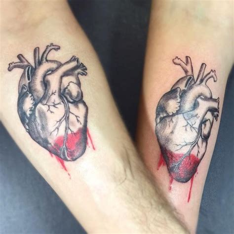 90 sensitive anatomical heart tattoo designs