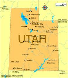 A Map Of Utah by Atlas Utah
