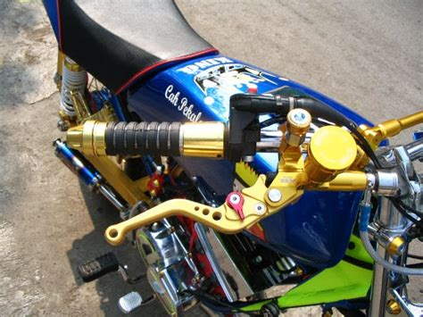 Baros Handgrip Baros Ring Gold oracle modification concept yamaha rx king modified