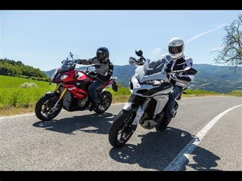 bmw s1000xr vs ducati multistrada 1200s test moto.it