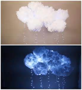 Interesting Home Decor Diy Hanging Cloud Light
