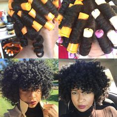 perm rod set using ors lock and twist gel and premium rod and coil perm rod set corkscrew curls on natural hair