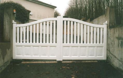 portails de jardin portillon jardin alu portail