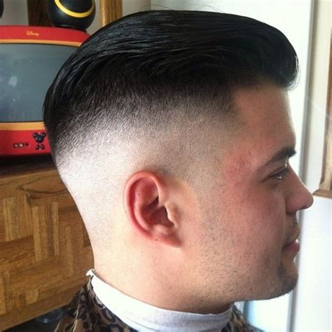 slick bsck hairstyle crown balding slicked back bald fade men s hairstyles pinterest