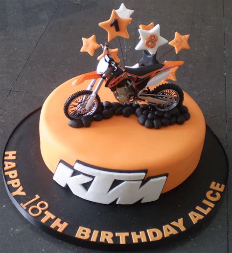 Ktm Bike Cake Ktm Birthday Cake Cakepins Food Drink