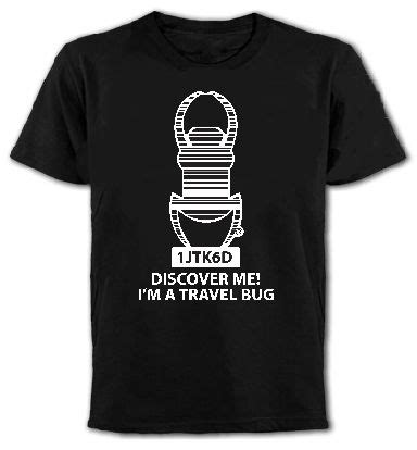 bed bugs travel on clothing trackable travel bug tee on geocaching com geocaching clothing pinterest travel