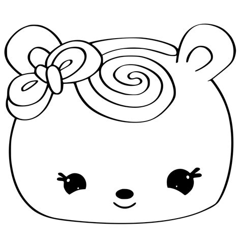 Coloring Page Num Noms by 24 Num Noms Coloring Pages Selection Free Coloring Pages