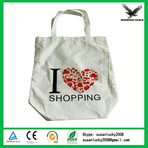 Canvas Promotion wholesale promotion custom printed cotton canvas tote bag
