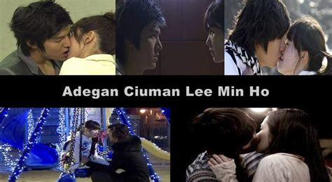 video film romantis lee min ho foto gambat adegan ciuman bibir hot mesra lee min ho dan