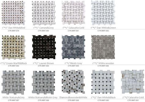 Tile Sheets For Kitchen Backsplash Bathroom Flooring Design Chinese Marble Mosaic Tiles On