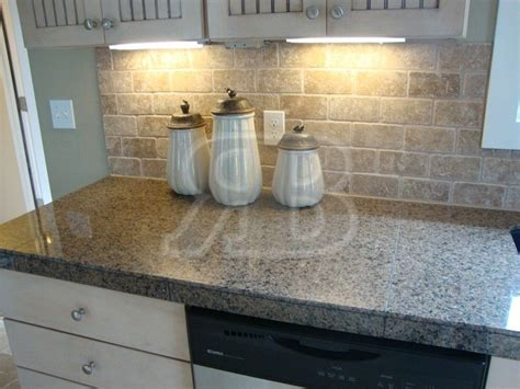 kitchen countertops without backsplash granite tile countertops without grout lines desert