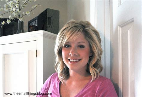 medium hairstyles using curling iron how to curl your hair with a curling iron tutorial the small things