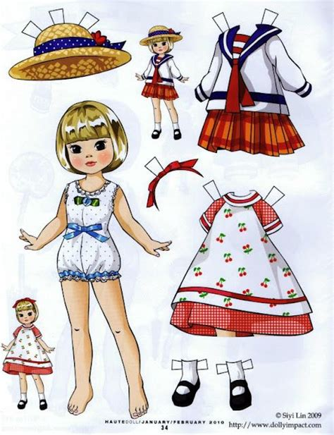 How To Fold Paper Dolls - 17 best images about paper dolls on chatty