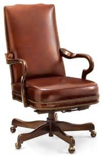 Comfort Blinds And Screens Easton Executive Leather Office Chair Traditional
