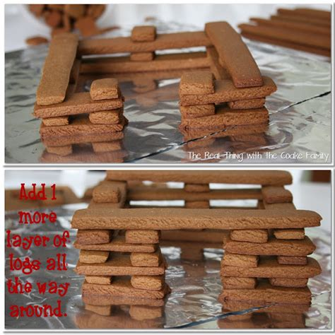 gingerbread log cabin template activities gingerbread house recipe the real