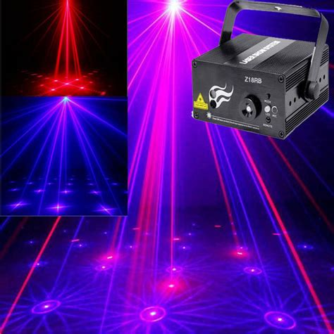 laser light show projector sell multi colored 16 led 8 modes car emergency light warning strobe blink