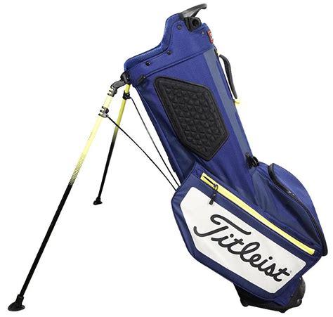 titleist golf bag new titleist golf 2017 players 4 stand bag navy white