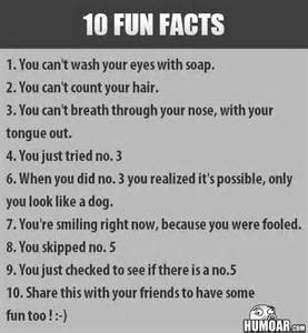 10 fun facts humoar com your source for moar humor