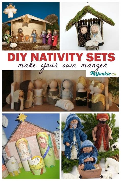 diy printable nativity scene make your own nativity sets with these tutorials diy