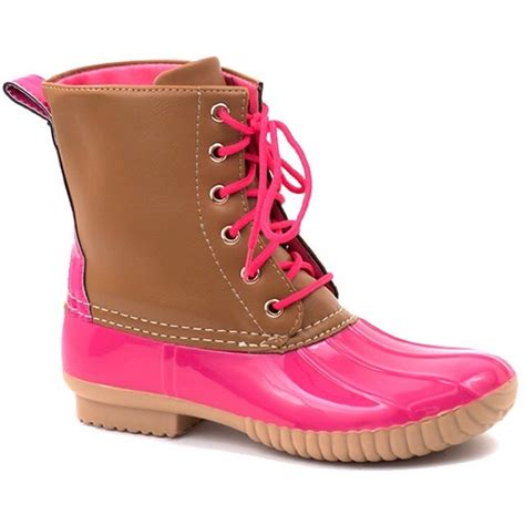 pink duck boots duck boots from kyoot s closet on poshmark