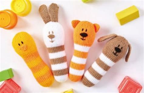 knitted baby rattle free free baby knitting patterns patterns knitting