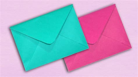 How To Make A Paper Envelope Without Glue - paper envelope without glue or diy easy