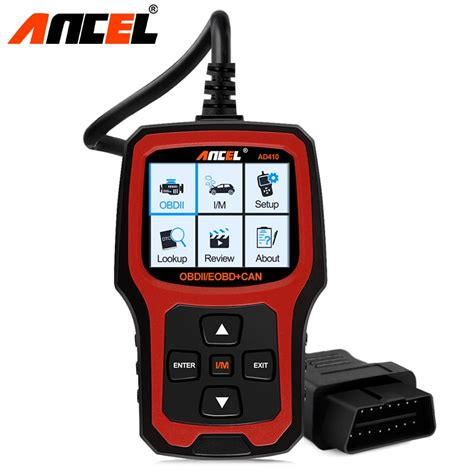 ancel original car diagnostic tool obd automotive scanner ad obd  eobd  elm engine