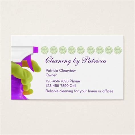 143 best house cleaning business cards images on pinterest
