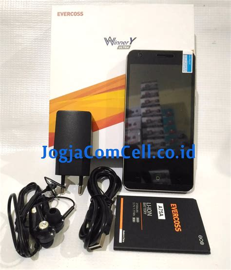 Handphone Smartphone Evercoss A75a Winner Y Ultra evercoss a75a winner y ultra ram 2gb rom 16 gb