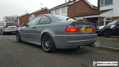 nardo grey e36 2001 coupe m3 for sale in united kingdom