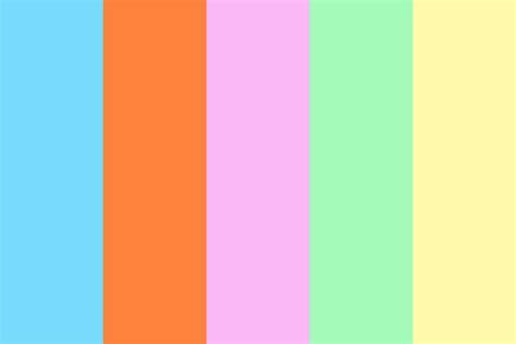 popular color palettes salt water taffy color palette