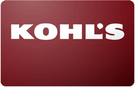 What Stores Sell Kohl S Gift Cards - 9 off kohls 5 00 50 00 preowned paper gift cards ebay