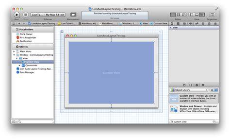 enable layout xcode gentle bytes blog ramblings news programming