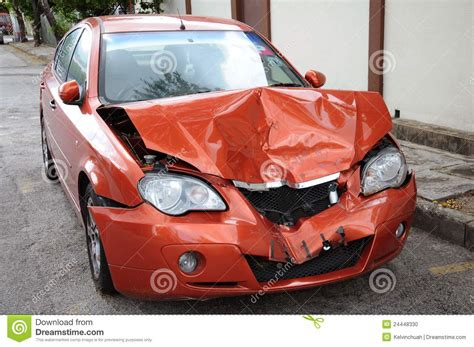 a pic of a car car damage stock photo image of paintwork rear