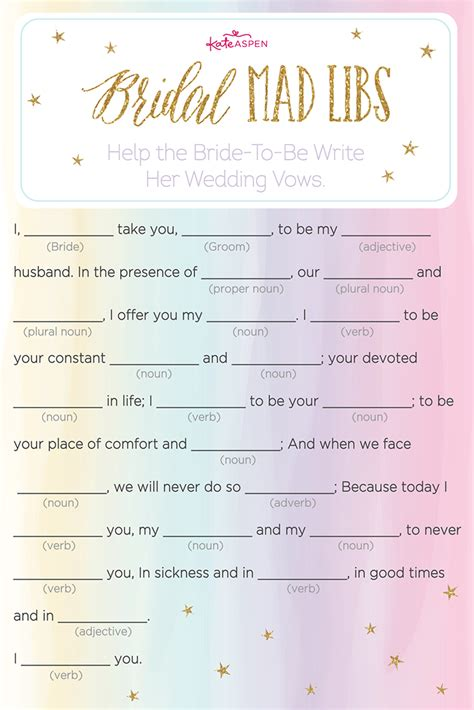 3 magical bridal shower printables kate aspen
