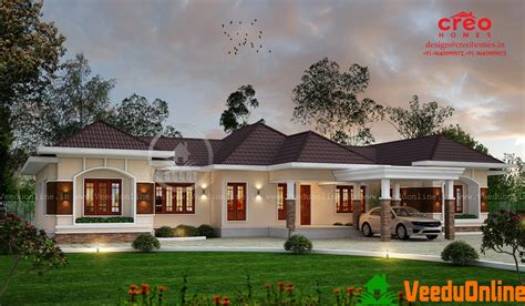 kerala home design single floor 2350 sq ft single floor contemporary home designs