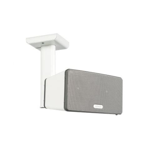 flexson ceiling mount for sonos play 3 white single