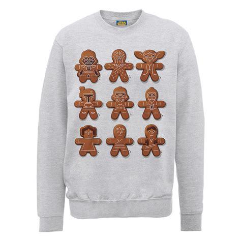 Hoodie Sweater Start Wars Toasty Merch wars gingerbread characters sweatshirt