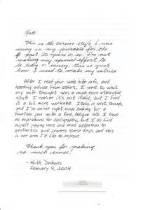 handwritten cover letter samples best letter sample