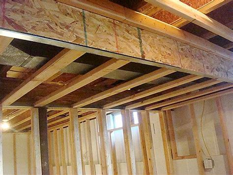 basement soffit framing basement soffits and how to build them basement finish
