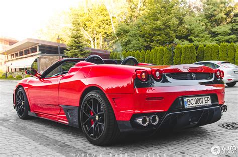 Ferrari F430 Spider Super Veloce Racing 28 August 2016