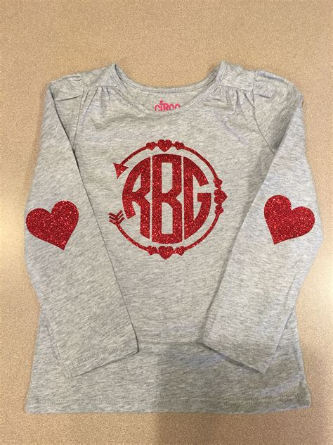 valentines day shirt ideas monogram shirt arrow vinyl to heat