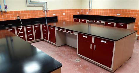 lab bench tops stainless steel laboratory countertops edge grain maple
